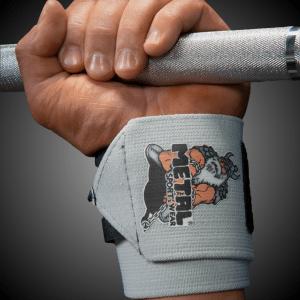 METAL SILVER Wrist Wraps 60 alebo 80cm (pár)