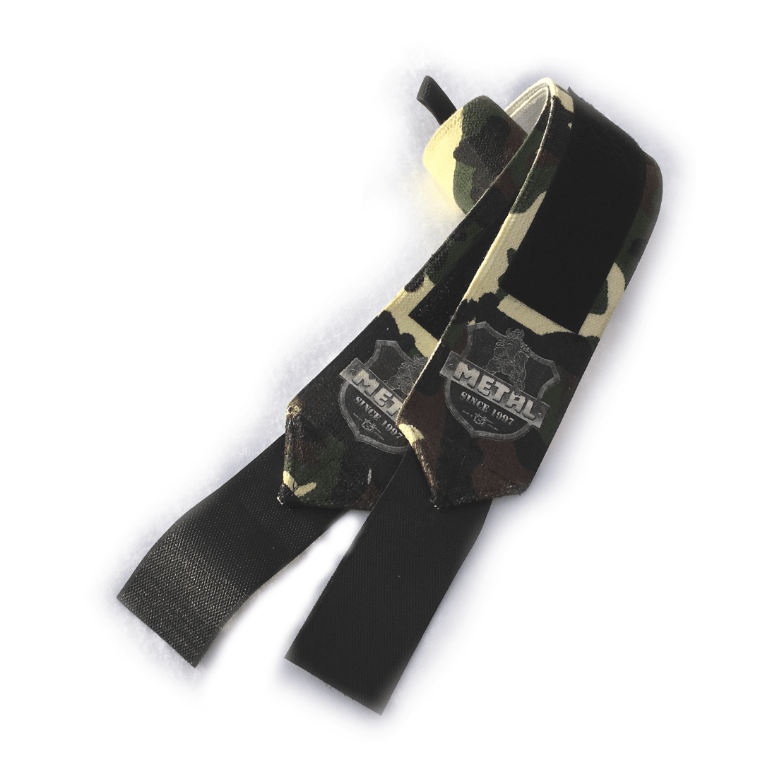 METAL Mystical Wrist Wraps - woodland camo (pár)