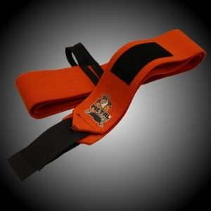 METAL Orange Wrist Wraps 60cm alebo 80cm