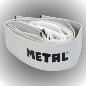 METAL MYSTICAL Silver Knee Wraps (cena za pár)