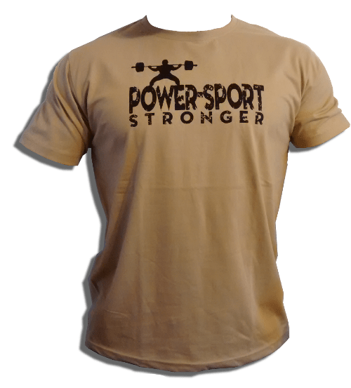 "Tričko ""POWER-SPORT Stronger"""
